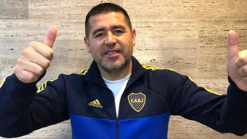 Juan Román Riquelme, líder del Consejo de Fútbol de Boca y vice.