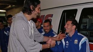 Leo Messi se despidió de Luis Scola con un emotivo posteo