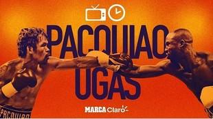 Pacquiao vs Ugas: Hora, día, fecha y PPV para el esperado combate de...