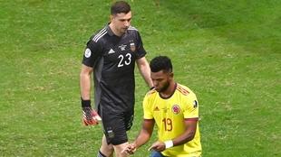 Los recordados penales entre Argentina y Colombia en la Copa América...