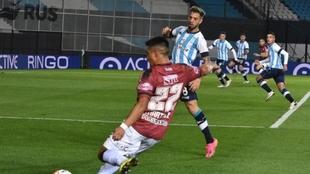 Racing y Central Córdoba igualaron 0-0 en Avellaneda