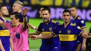 Boca se vio perjudicado ante Atlético Mineiro en la Copa Libertadores