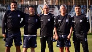 Néstor Gorosito tomó el cargo de entrenador en Gimnasia La Plata