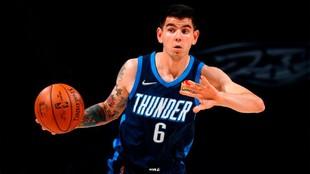 Gabriel Deck, jugador de los Oklahoma City Thunder.