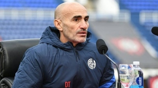 Paolo Montero, técnico de San Lorenzo.