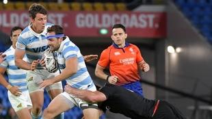 Los Pumas cayeron de manera contundente ante Nueva Zelanda