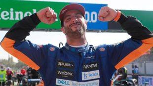Daniel Ricciardo gana en el Gran Premio de Italia 2021