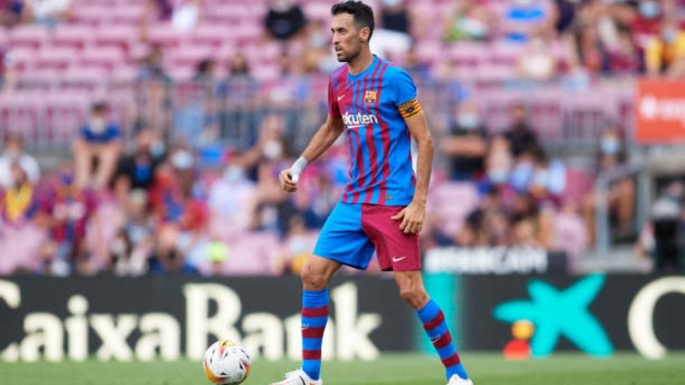 Sergio Busquets capitán del FC Barcelona