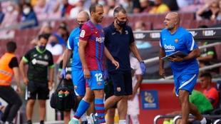 Braithwaite lesionado frente al FC Barcelona