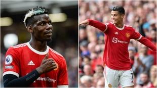 Pogba y Cristiano Ronaldo quieren seguir jugando juntos con el...