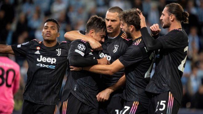 Paulo Dybala convirtió el segundo gol de la Juventus