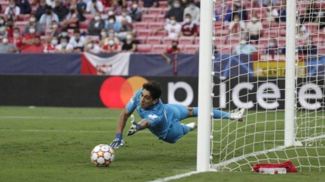 Sevilla y Salzburgo disputaron un show de penales