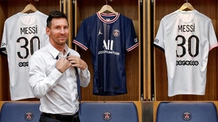 Leo Messi y su primera función con PSG en la Champions League