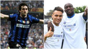 Diego Milito es un referente en el Inter de Milan