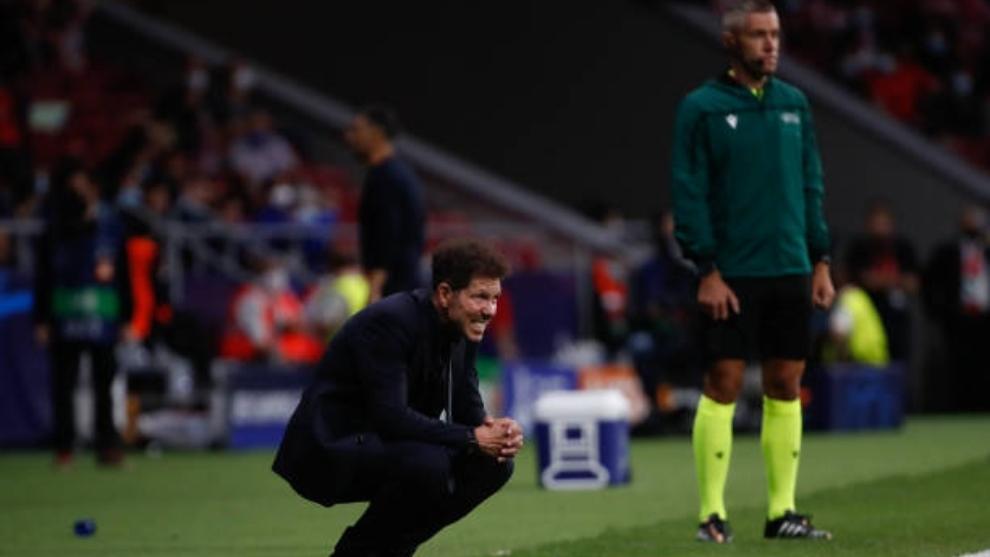 Simeone preocupado por el partido del Atlético de Madrid