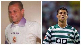 Rodrigo Fabri y Cristiano Ronaldo.