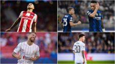 Ángel Correa, Lautaro Martínez, Papu Gómez y Leo Messi