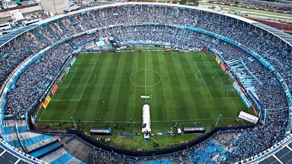 El estadio de Racing.