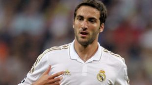 Higuaín en Real Madrid.