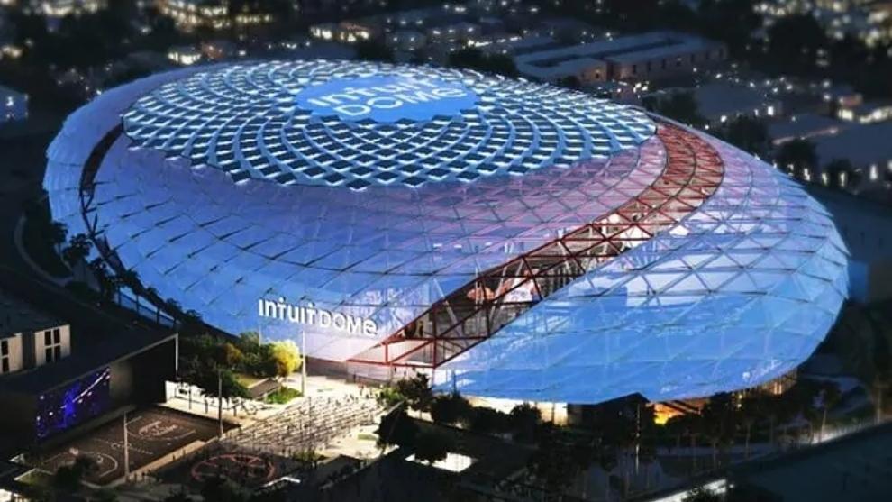 Intuit Dome, futuro estadio de los Ángeles Clippers