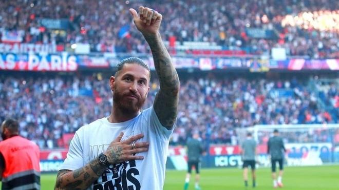 Sergio Ramos sigue sin debutar en París Saint-Germain