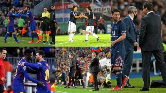 Cinco momentos en los que Messi fue cambiado en su carrera deportiva.