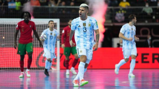 Argentina vs Portugal: Portugal Campeón del Mundial de Futsal 2021:  Argentina luchó pero se le escapó el título | MARCA Claro Argentina