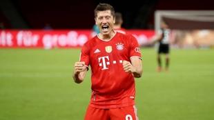 Lewandowski jugador del Bayern de Múnich