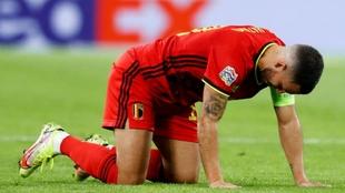Hazard extremo belga del Real Madrid
