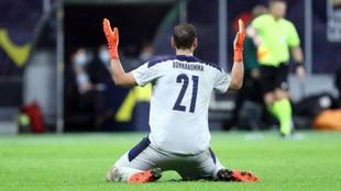 Gianluigi Donnarumma portero italiano del PSG