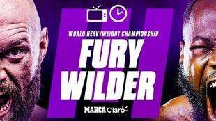 Tyson Fury vs Wilder 3 hoy en vivo y en directo online: Hora y...