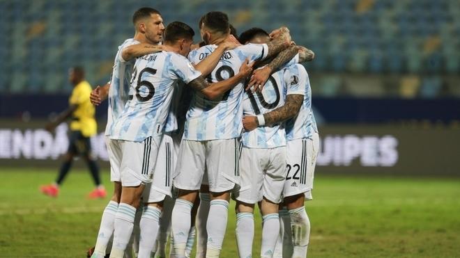 Selección de Argentina.