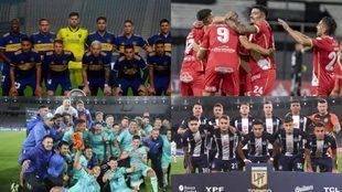 Los cuatro semifinalistas de la Copa: Boca, Argentinos, Godoy Cruz y...