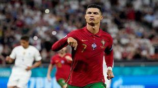 1° - Cristiano Ronaldo, Portugal: 114 goles en 181 partidos.