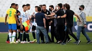 El escándalo del Brasil vs Argentina.