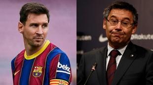 Bartomeu volvió a hablar de Messi...