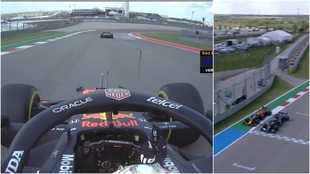 ¡Max Verstappen hace 'fuck you' a Lewis Hamilton en plena...