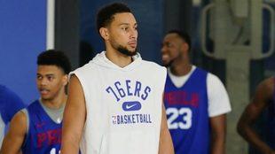 Ben Simmons sigue con sus problemas en los Philadelphia 76ers