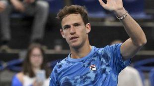 Diego Schwartzman sigue en carrera en ATP 250 de Amberes