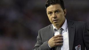 Marcelo Gallardo, técnico de River.