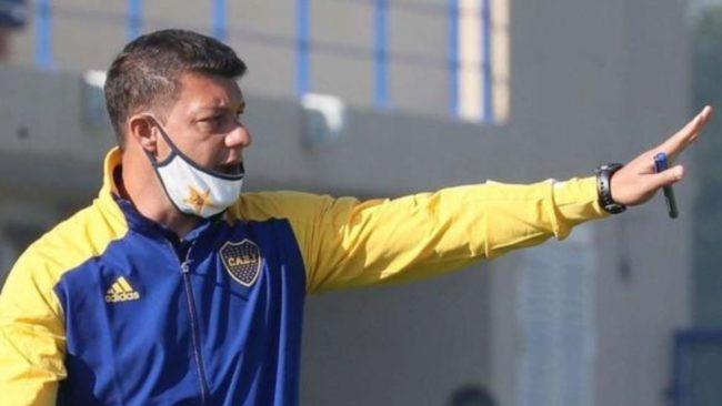Sebastián Battaglia, director técnico de Boca.