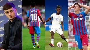 El Barça acapara la lista con tres jugadores entre los más valiosos.